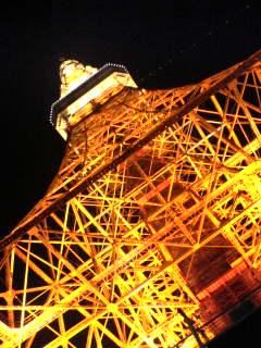 東京タワー足なめ